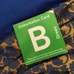 Embarkation Card
