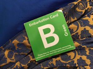 Embarkation Card