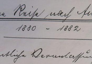 1880 diary