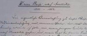 Tagebuch 1880