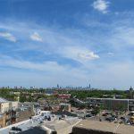 Chicago Skyline view from DANK Haus