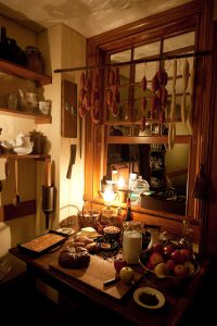 Schneider's kitchen - photo courtesy: Keiko Niwa/Tenement Museum