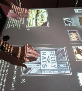 Shop Life Touch Screens - photo courtesy: Tenement Museum