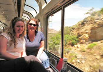 Denver – Salt Lake City by train