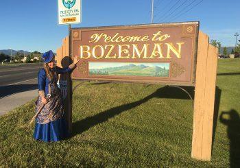 Arrival in Bozeman