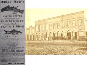 Coopers Armory - found at the Gallatin History Museum