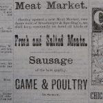 Kopp brothers advertisement - Newspaper found at Gallatin History Museum Bozeman