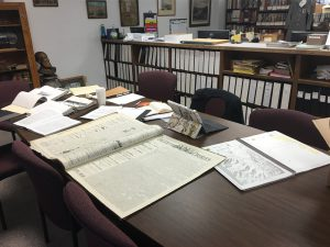 """My office"" at the Gallatin History Museum"