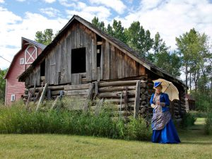 One of the other old scructures. This could be the building in which Otto set up his tannery!