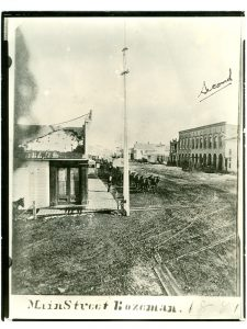 Bozeman Main Street - photo found at Gallatin History Museum Bozeman