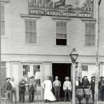 Spieth & Krug brewery - photo found at Gallatin History Museum Bozeman