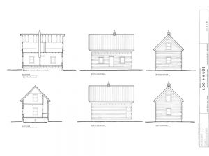 Study of the Farm building - aura Landon and Professor Maire O'Neill, School of Architecture, Montana State University