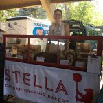 Stella at the Farmer's Market