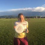 Playing Frisbee in Bozeman