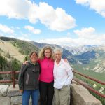Ursula (right), Laura (left) and me at the Rock Creek Vista Point
