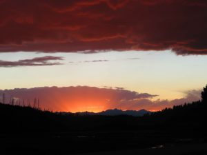Montanan sunset