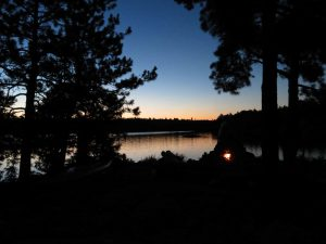Sunset Boundary Waters