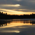 Sunrise in the Boundary Waters