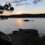 Sunset in the Boundary Waters