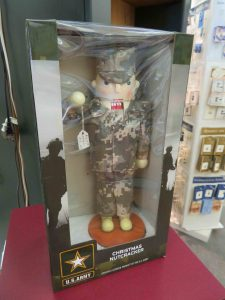cross-cultural creations: nutcracker in US Army clothes