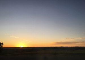 Last sunset in Montana