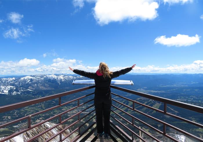 Montana von oben