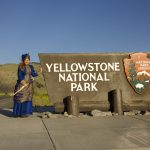 North entrance of the Yellowstone National Park